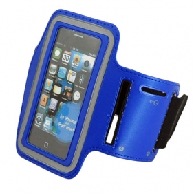 Sport Armband Arm Strap Cover Case Holder for iPhone iPod Touch - Blue