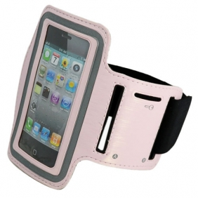 Sport Armband Arm Strap Cover Case Holder for iPhone iPod Touch - Pink