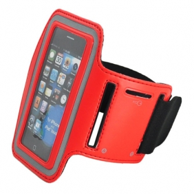 Sport Armband Arm Strap Cover Case Holder for iPhone iPod Touch - Red