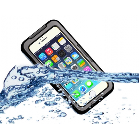 Black Waterproof Shockproof Dirt Snow Proof Durable Case Cover for iPhone 6/6S 4.7 Inch