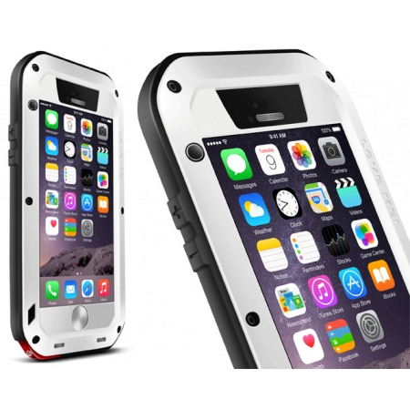White Best Quality Waterproof Shockproof Aluminum Case For iPhone 6 Plus/6S Plus 5.5 Inch