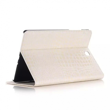 Beige Crocodile wallet Leather Case cover for Samsung Galaxy Tab A 9.7 T550 with stand and card slots