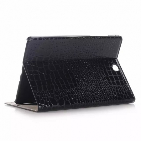 Black Crocodile wallet Leather Case cover for Samsung Galaxy Tab A 9.7 T550 with stand and card slots