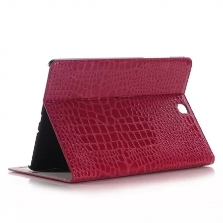 Rose Crocodile wallet Leather Case cover for Samsung Galaxy Tab A 9.7 T550 with stand and card slots
