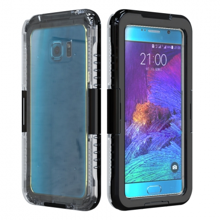 Black Waterproof Shockproof SnowProof DirtProof Durable Cover Hard Case for Samsung Galaxy Note 5