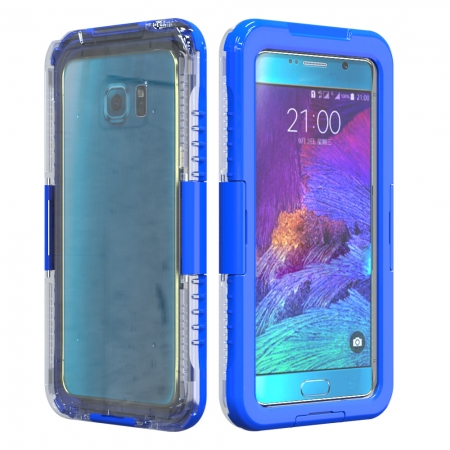 Blue Waterproof Shockproof SnowProof DirtProof Durable Cover Hard Case for Samsung Galaxy Note 5