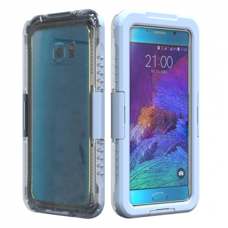 White Waterproof Shockproof SnowProof DirtProof Durable Cover Hard Case for Samsung Galaxy Note 5