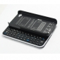 Ultra-thin Wireless Sliding-out Bluetooth Keyboard+Hardshell Cas