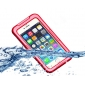 Red Waterproof Shockproof Dirt Snow Proof Durable Case Cover for iPhone 6 4.7 Inch
