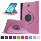 Pink 360 Rotating Leather Stand Case Cover for Samsung Galaxy Tab S2 9.7 T815