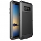 Black Aluminum Metal Water Resistant Shock Dust proof Case For Samsung Galaxy Note 8