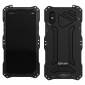 Black Aluminum Metal Waterproof Shockproof Dust-proof Case for iPhone X