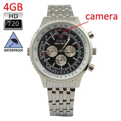 Waterproof Wrist Watch Camera DVR HD 720P 4GB 1.3 Mega Pixel + Free Shipping