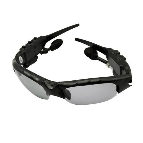 Stylish Eyewear Sunglasses Mp3 Player with 2GB Memory Black + Free Shipping
