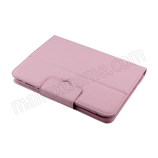 top quality Wireless Bluetooth Keyboard Stand Case for Samsung Galaxy Note 10.1 2014 Edition P600 - Pink