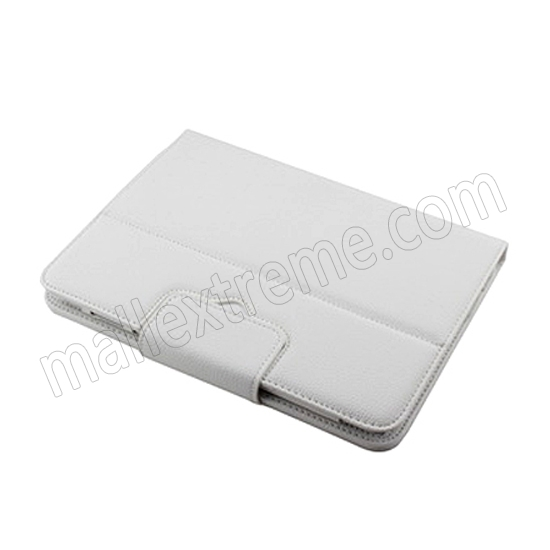 best price Wireless Bluetooth Keyboard Stand Case for Samsung Galaxy Note 10.1 2014 Edition P600 - White