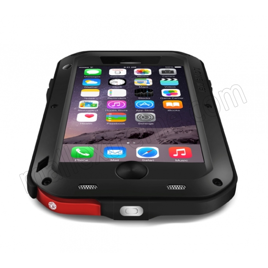 best price Red Best Quality Waterproof Shockproof Aluminum Case For iPhone 6 Plus/6S Plus 5.5 Inch