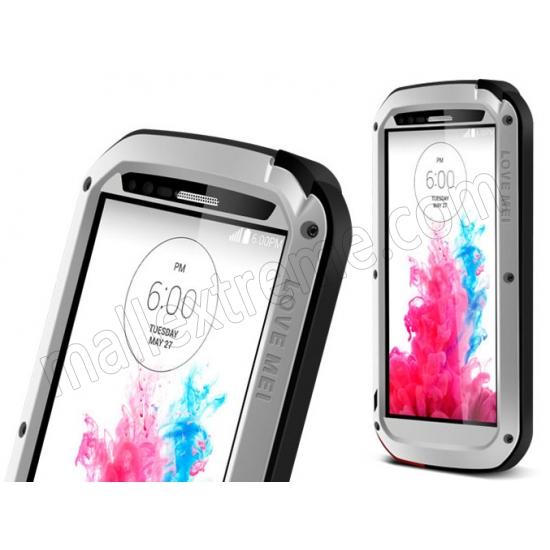 high quanlity New Waterproof Shockproof Dustproof Aluminum Gorilla Metal Cover Case for LG G3