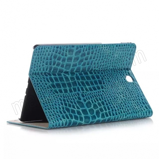 wholesale Blue Crocodile wallet Leather Case cover for Samsung Galaxy Tab A 9.7 T550 with stand and card slots