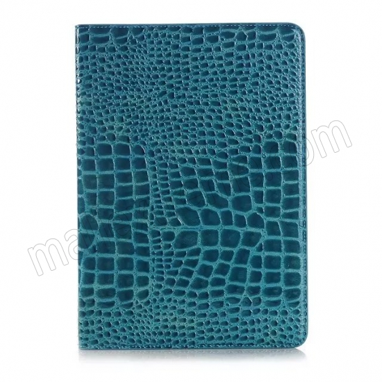 best price Blue Crocodile wallet Leather Case cover for Samsung Galaxy Tab A 9.7 T550 with stand and card slots