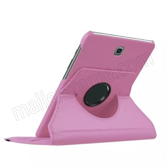 best price Pink 360 Rotating Leather Stand Case Cover for Samsung Galaxy Tab S2 9.7 T815