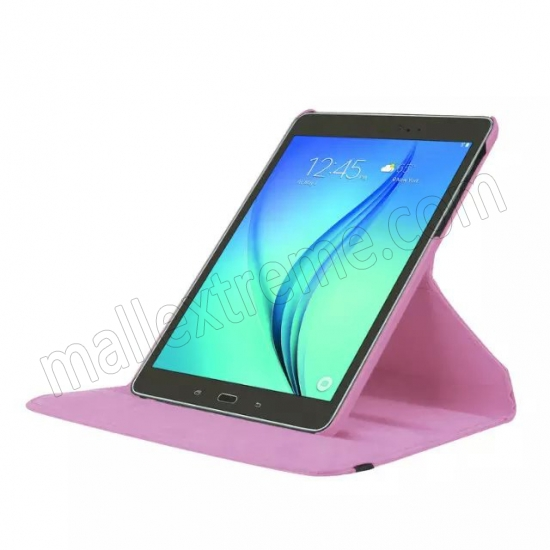 top quality Pink 360 Rotating Leather Stand Case Cover for Samsung Galaxy Tab S2 9.7 T815