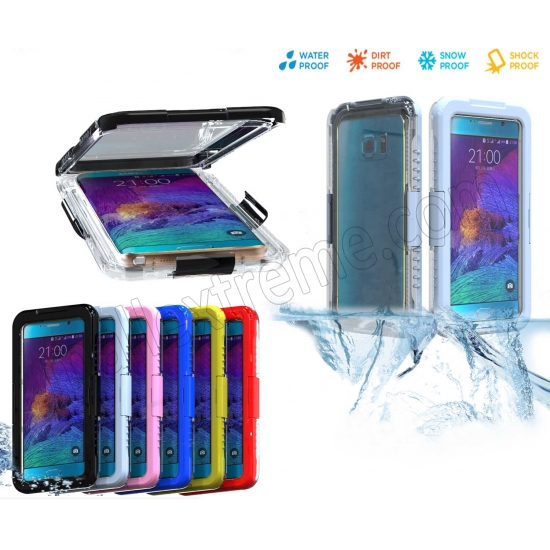 discount White Waterproof Shockproof SnowProof DirtProof Durable Cover Hard Case for Samsung Galaxy Note 5