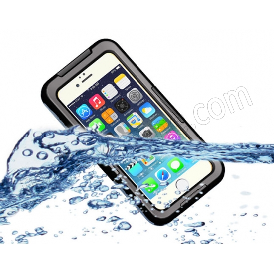 wholesale Black Waterproof Dirt Snow Proof Full-Protect Diving Case Cover For iPhone 6S Plus