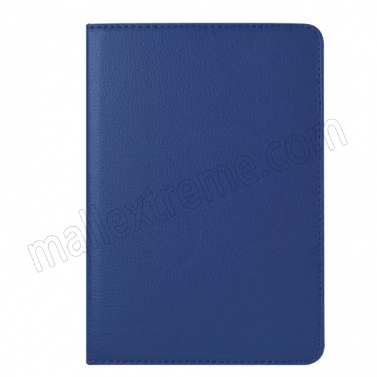 on sale Dark blue 360 Degrees Rotating Stand PU Leather Smart Case Cover for Apple iPad mini 4
