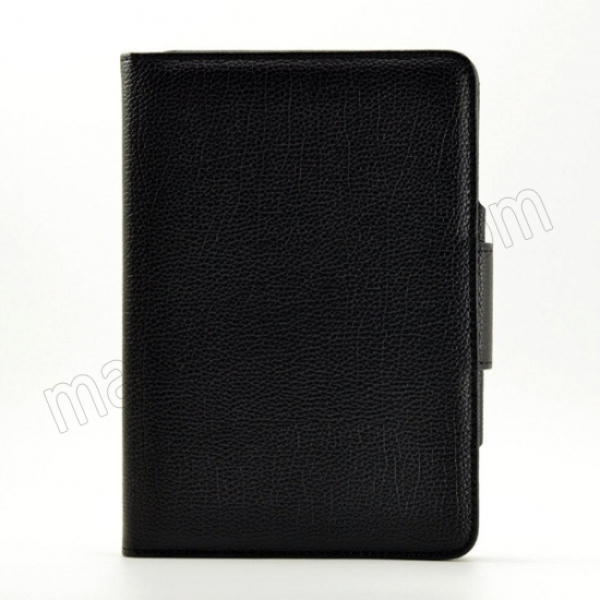 discount Black Folding PU Leather Case for Apple iPad Mini 4 with Wireless Bluetooth Keyboard