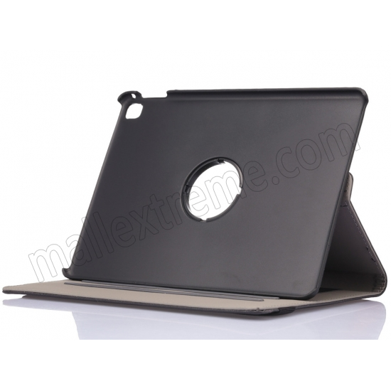cheap Black 360 Degree Rotay Jeans Cloth Leather Stand Case Cover For iPad Pro 9.7 Inch