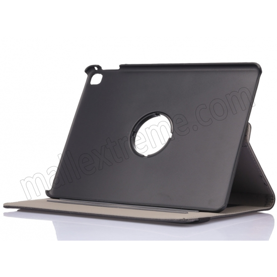 top quality Black 360 Degree Rotay Jeans Cloth Leather Stand Case Cover For iPad Pro 9.7 Inch