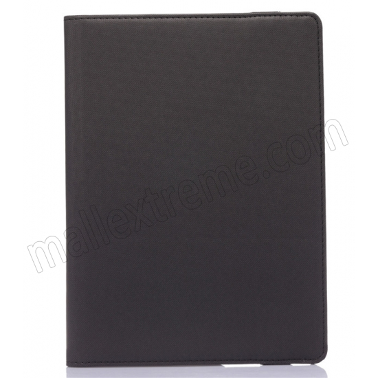 on sale Black 360 Degree Rotay Jeans Cloth Leather Stand Case Cover For iPad Pro 9.7 Inch