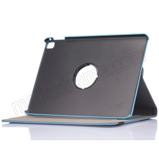 best price Light Blue 360 Degree Rotay Jeans Cloth Leather Stand Case Cover For iPad Pro 9.7 Inch