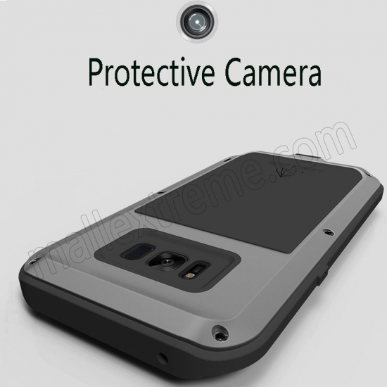 discount White Aluminum Metal Anti-Drop Cover Outdoor Sport Dirt Shockproof Protective Armor Case For Samsung Galaxy S8
